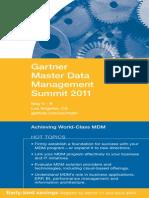 Gartner Mdm Summit Brochure 2011fg fdg f