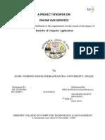 ONELINE GAS SERVICE REPORT