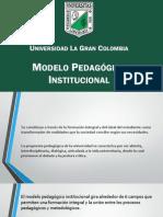 Modelo Pedagogico La Gran Colombia