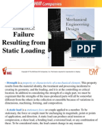 5.Failures Resulting From Static Loading