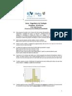 2ª Lista - Estatística -Engenharia - 2014.2