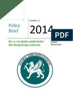 De Ce Revoluția Umbrelelor Din Hong Kong Contează 1
