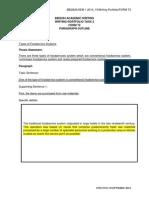 Bbi 2424 Writing Portfolio Task 2 Form Revised