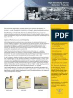 Sell Sheet E-AI-011 -- Aspirated Smoke Detection Products