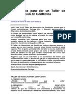 Taller de Resolución de Conflictos.doc