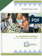Montana Girls STEM Helena Collaboration Conference