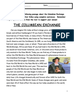 columbianexchangereadingcomprehension