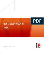 How to Deploy MOCN for T Project