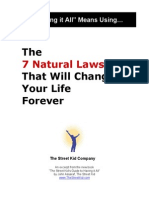The 7 Natural Laws