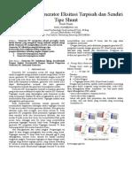Karakteristik Generator Eksitasi Terpisah dan Sendiri Tipe Shunt