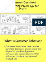 Consumer and Business Behavior Ch 5 Edited