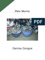 Cantos Congo de Palo Monte