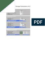 UltraView EVP Storage Calculator 4.2
