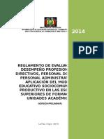 3 Reglamento de Desempeño Docente ESFM