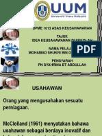 Asas Keusahawanan PDF