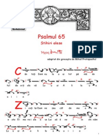 Psalmul 65 Cratima