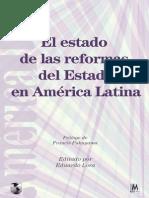 Echebarría y Cortázar - Reformas Del Estado en Al