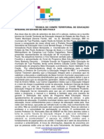 Ata da reunião técnica realizada no município de Tupi Paulista 12-09-2014