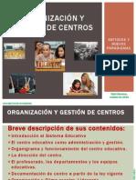 Organización y Gestión de Centros