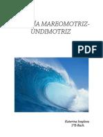 Energía Mareomotriz-Undimotriz.