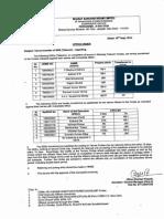 SDE Tenure Transfer Order 10-9-14