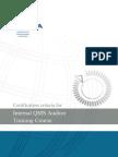 Qms Internal Auditor