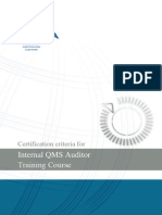 Qms Internal Auditor