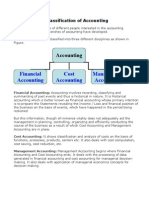 Classification of Accounting
