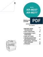 Sharp AR M237_AR M277 Operation Manual
