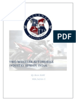 report on two wheeler market