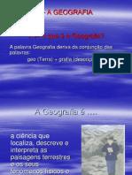 geografia e paisagem