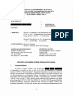 Order of Suppression in New Haven Raids - IJ Straus (Hartford Imm. Ct, June 2, 2009)
