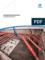 Geotechnical Services Capability Statement