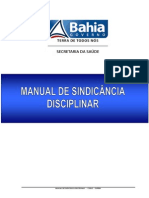 Manual Sindicancia - Estado Bahia