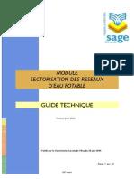 sectorialisation hydraulique