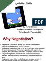 Negotiation Skills