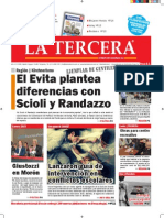 Diario La Tercera 17.11.2014
