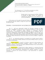 DN 73 de 2004 - Caracterização Da Mata Atlantica, Normas de Utilização