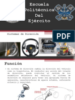 Sistema de Dirección Automóvil