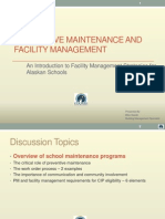 Preventive Maintenance and Facility Management