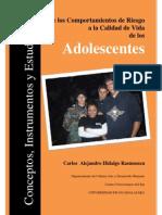 De Los Comportamiento de Riesgo a La Calidad de Vida de Los Adolescentes