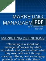 marketing management unit 1 ppt