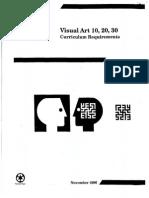 Visual Art Curriculum Canada