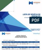 Lista de Vehiculos Oficiales del R. Ayuntamiento de Matamoros.