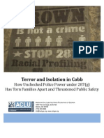 Terror and Isolation in Cobb (Oct. 2009)