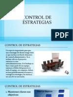 Control de Estrategias