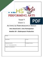 year 9 drama unit 1b pdf