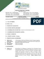Peachtree Corners City Council Agenda