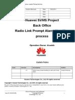 Radio Link Prompt Alarm