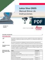 manual Breve de Instrucciones Leica Viva GNSS GettingStartedGuide Es